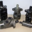 Orbital motors and piston motors