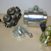 Ball valves and diverters